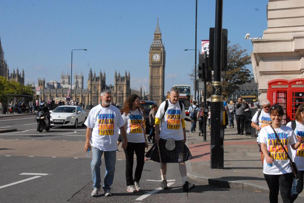Ataxia UK City Bridges Challenge 2015