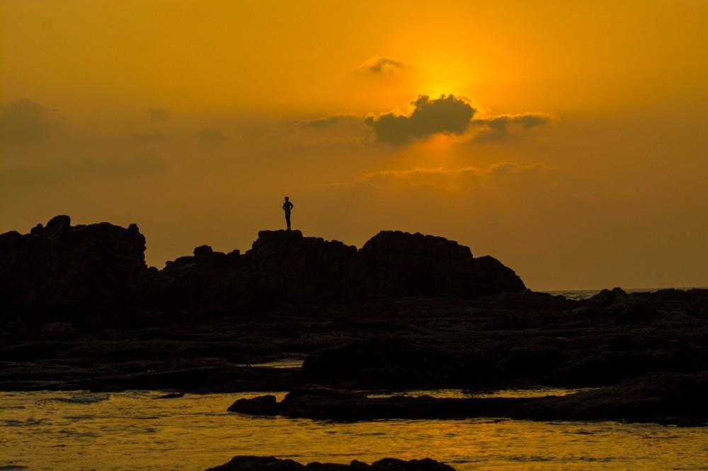105-Sunset_at_Muzhappilangad_beach