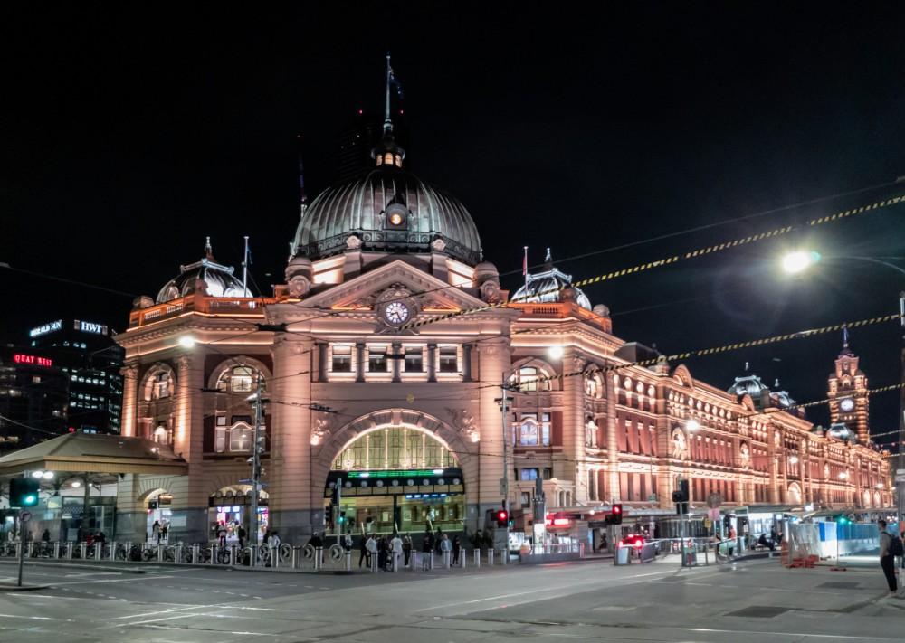 Melbourne (AU), Flinders Street Railway Station