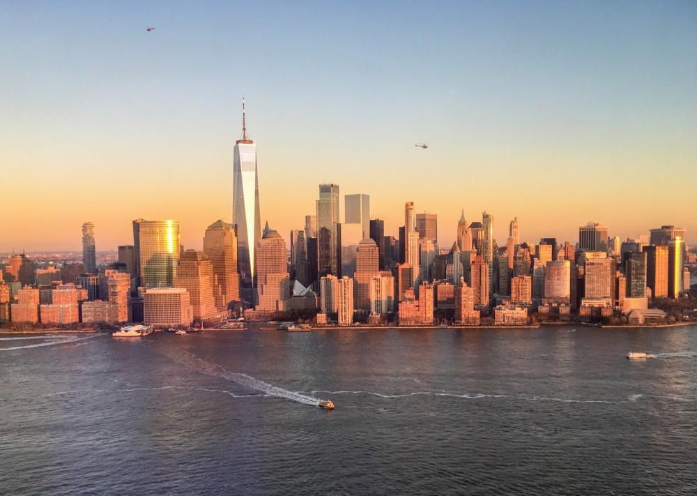 Downtown Manhattan Skyline seen from Paulus Hook 2019-12-20