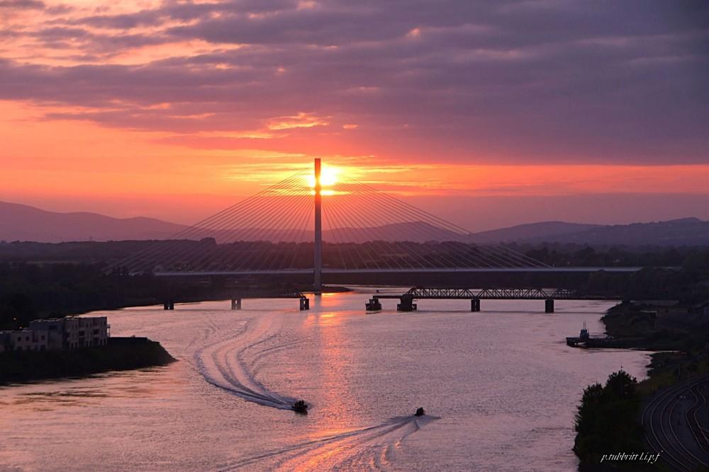 190-waterford-sunset-river-suir-bridge
